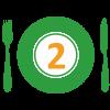 2. Tofu na wok zelenine, ryža jasmínová +POLIEVKA
