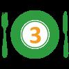 3. Zapekané bataty s tofu a bazalkovým pestom +POLIEVKA